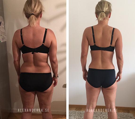 Jenny Gustafssons resultat bakifrån