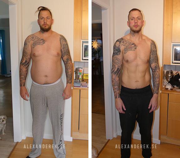 Mikael Robertsson resultat baksida